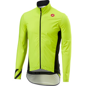 Castelli Pro Fit Light Rain Jacket Men yellow fluo